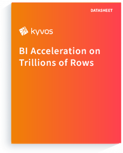 Datasheet BI Acceleration on Trillions of Rows