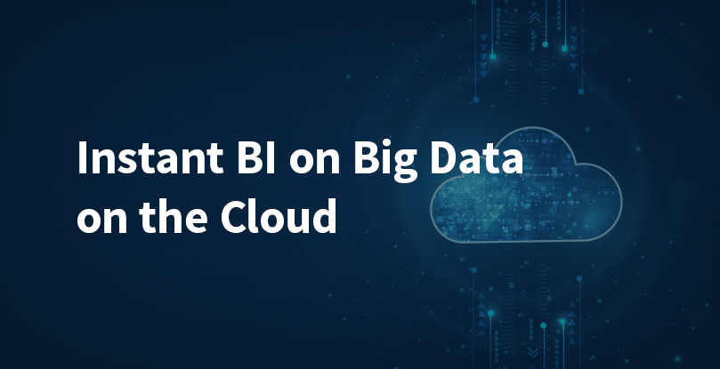 Transform your Business with Elastic BI on Big Data in the Cloud