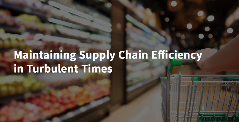 Maintaining Supply Chain Efficiency in Turbulent Times
