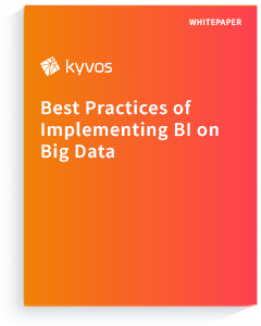 Whitepaper: Best Practices of Implementing BI on Big Data
